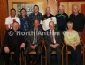 Dunloy 1916 Committee pictured with Michael Hasson, Ulster GAA President